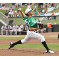 Dayton Dragons left-handed pitcher Packy Naughton