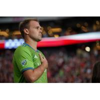 Seattle Sounders FC Defender Chad Marshall