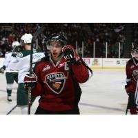 Craig Cunningham with the Vancouver Giants