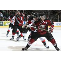 Craig Cunningham skating with the Vancouver Giants
