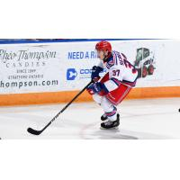 Donovan Sebrango of the Kitchener Rangers